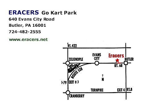 go kart design. Eracers Go Kart Park is